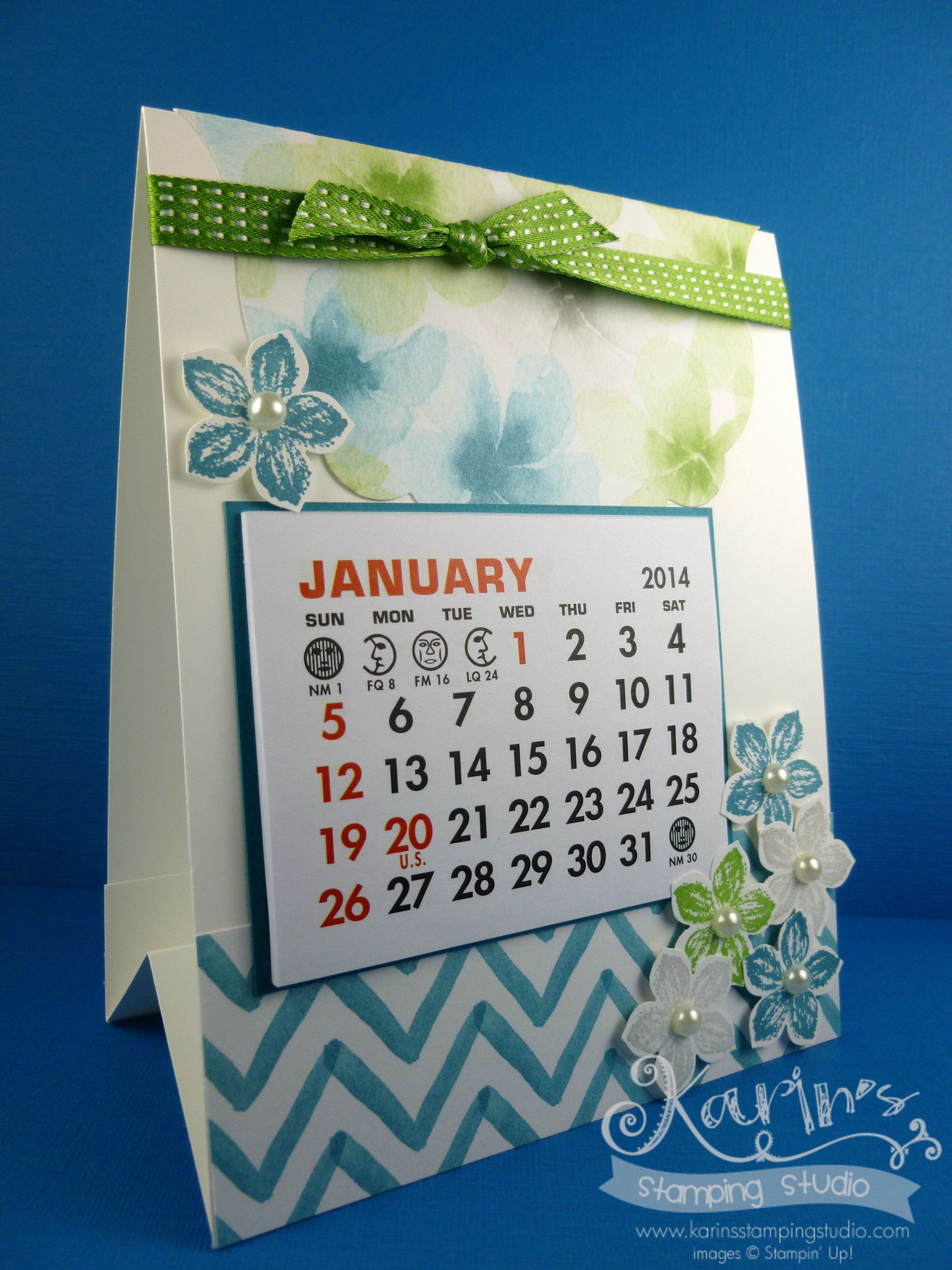 Jan 2014 Calendar Downline Project
