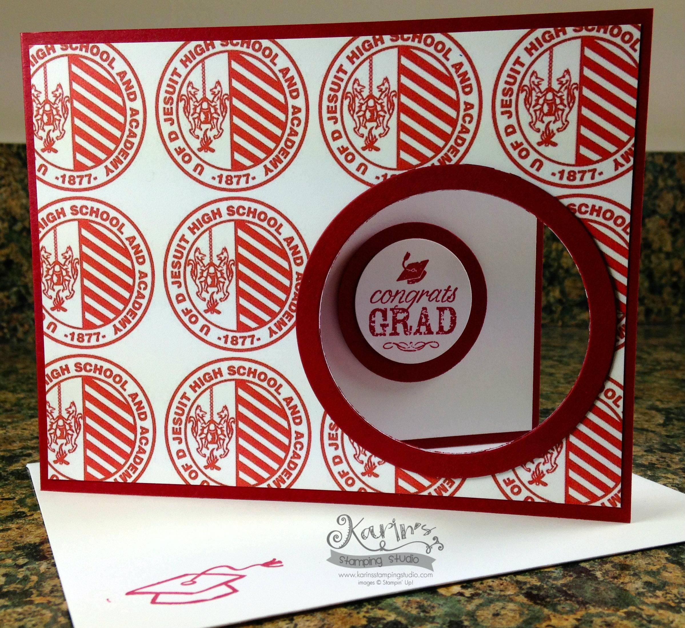 Grad card example # 4
